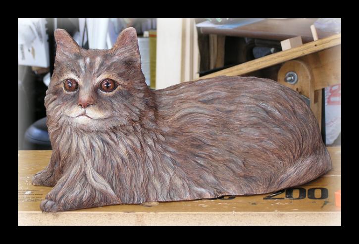Maine Coon Cat 04-19-09