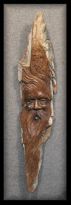 Bark Wood Spirit for MPBN Auction 2010