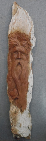 LOVE Wood Spirit