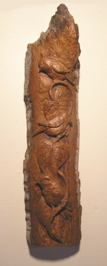 """Canary Bark Carving"""