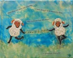 """Dancing Sheep"" Sold"